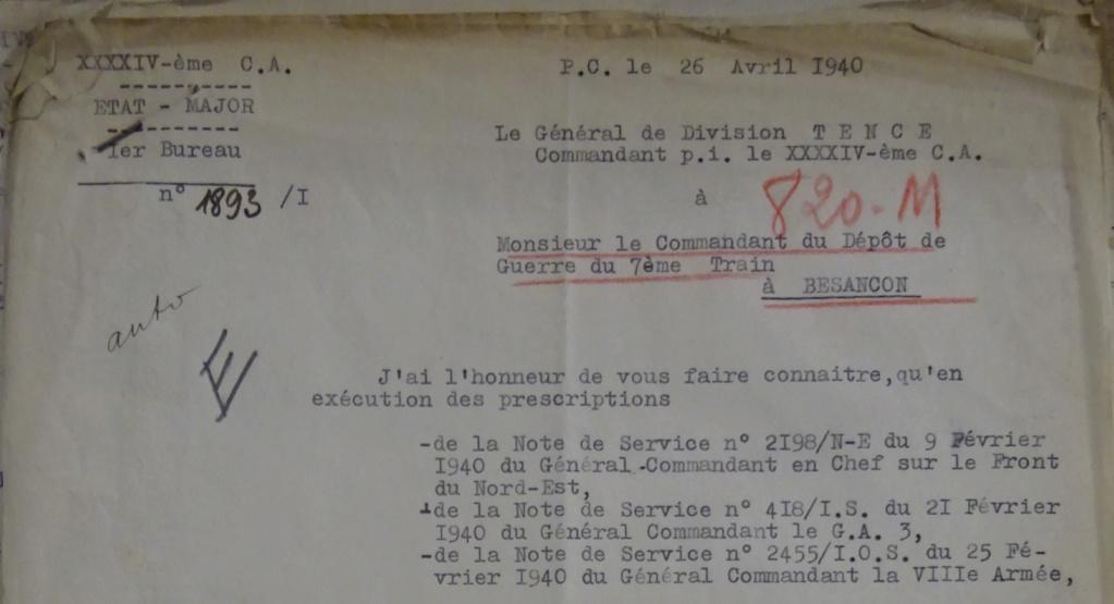 XLIVe CA ou 44e Corps d'Armée (de forteresse) 20033110