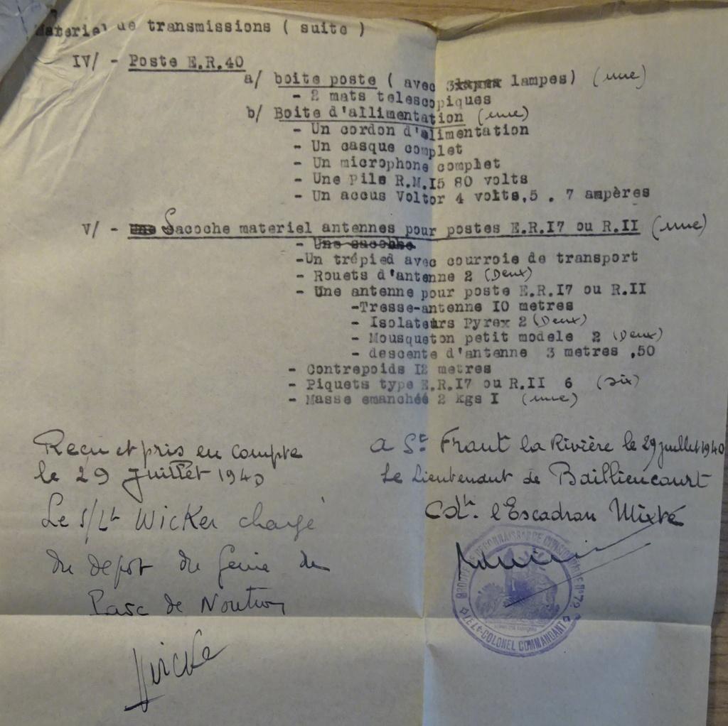 Liste du matériel de transmission d'un GRDI Dsc07617