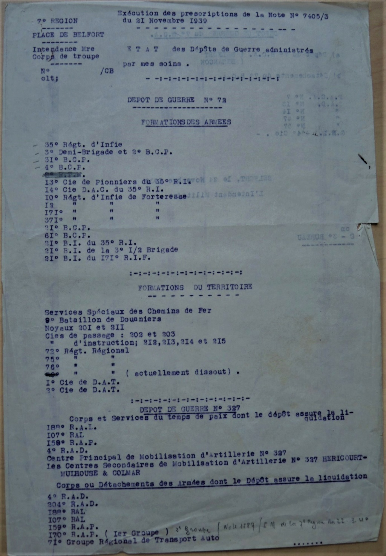 Dépôt d'Infanterie n°72 Compagnie 203 Valdoie (Belfort) Dscn0510