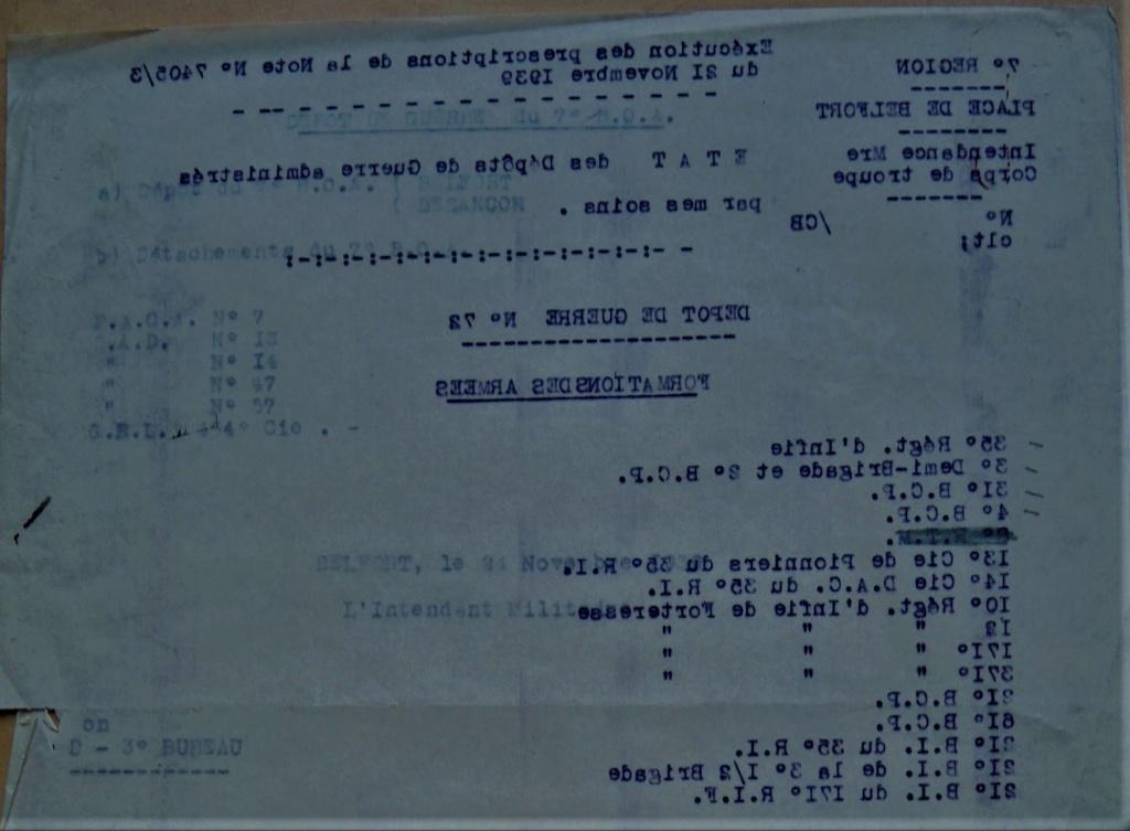 Dépôt d'Infanterie n°72 Compagnie 203 Valdoie (Belfort) Dscn0511