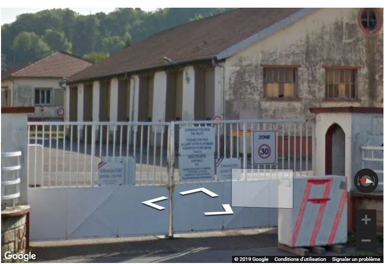 CMA 327 Belfort, quelle caserne ? Google10