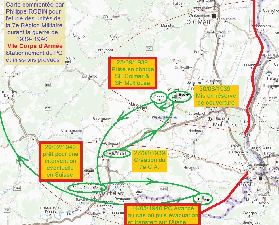 GAO affecté au 7e CA (8e Armée) Implan10