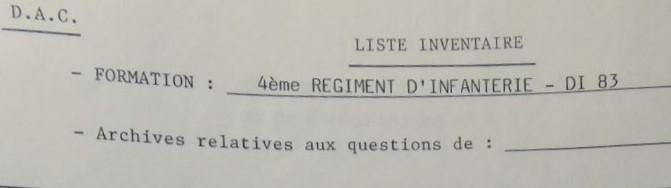 Les bataillons de disponibles ou XXIe Bataillon de RI Xxi-4e10
