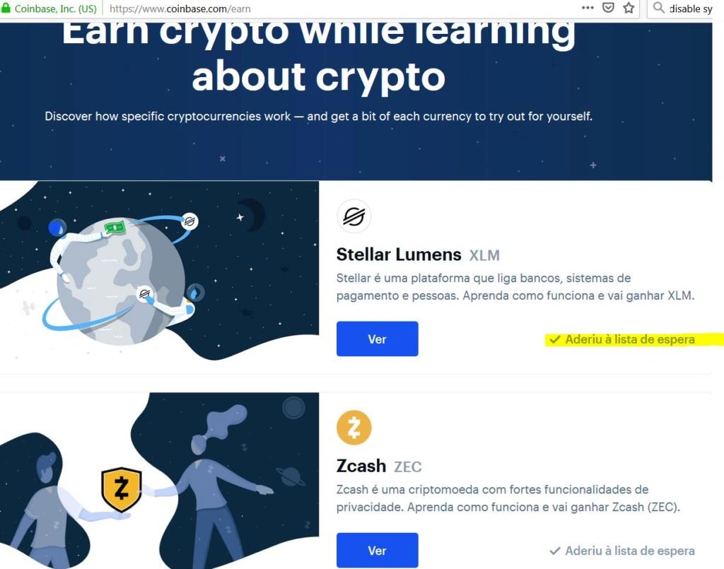 Oportunidade (Provado) - Coinbase oferece 50$ XLM Captur10