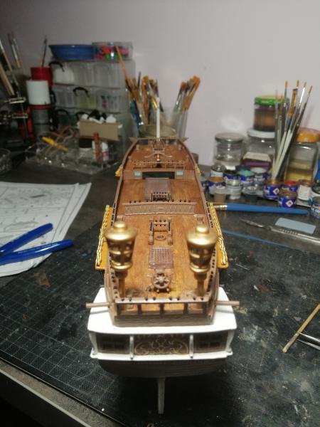 Frégatte USS BONHOMME RICHARD1/132ème Revell - Page 5 10113