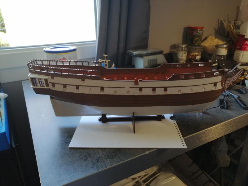 Frégate USS BONHOMME RICHARD 1/132 ème Revell 10210
