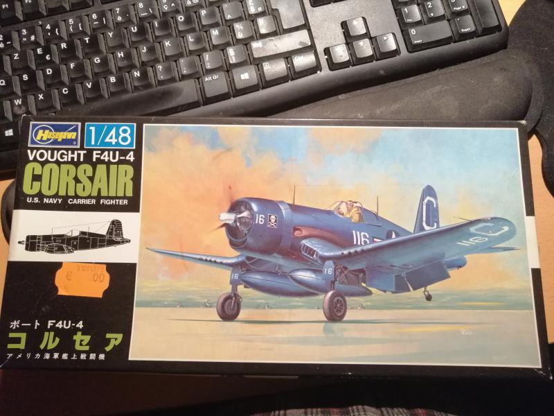 Fil rouge 2021 * Corsair F4U-4 au 1/48 de chez Hasegawa 123