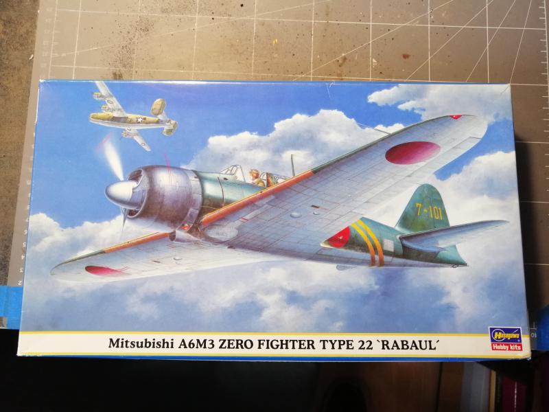 Ouvre boite Hasegawa 09407 A6M3 Zero type 22 Rabaul au 1/48 133