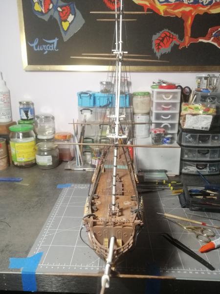 Frégatte USS BONHOMME RICHARD1/132ème Revell - Page 7 17710