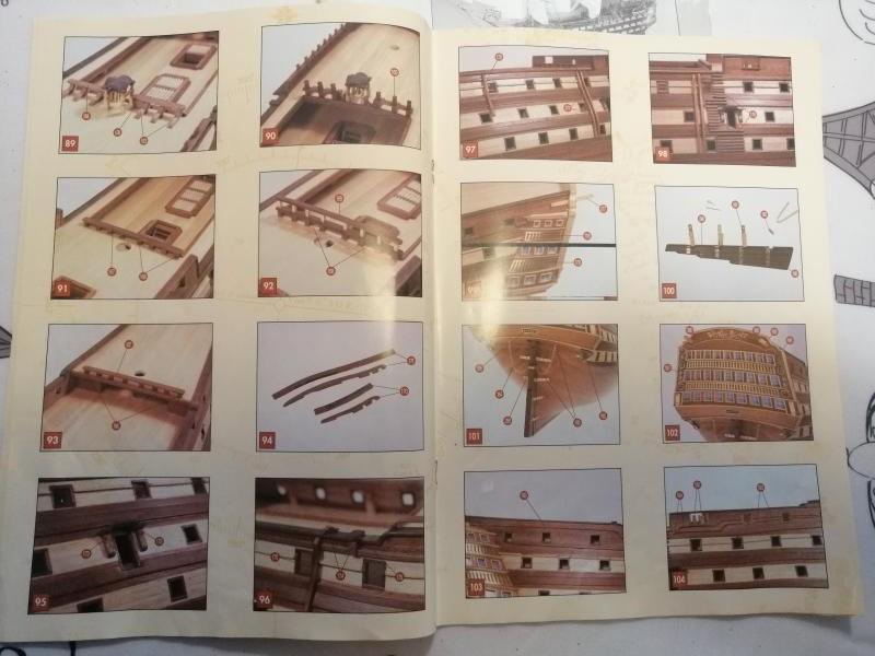 vaisseau Victory 1/94 ème de chez Constructo (bois) 1917