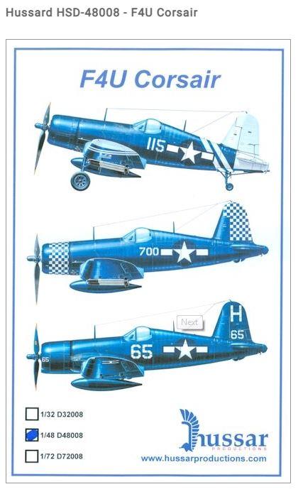 Fil rouge 2021 * Corsair F4U-4 au 1/48 de chez Hasegawa 515