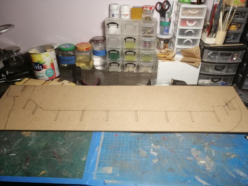 Reconstruction après démantèlement de l'Ambitieux d'Altaya - Page 2 5813