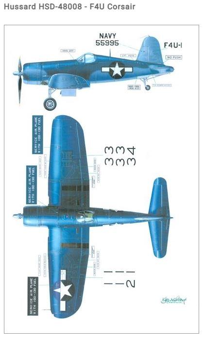 Fil rouge 2021 * Corsair F4U-4 au 1/48 de chez Hasegawa 814