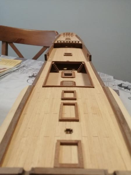 vaisseau Victory 1/94 ème de chez Constructo (bois) 816