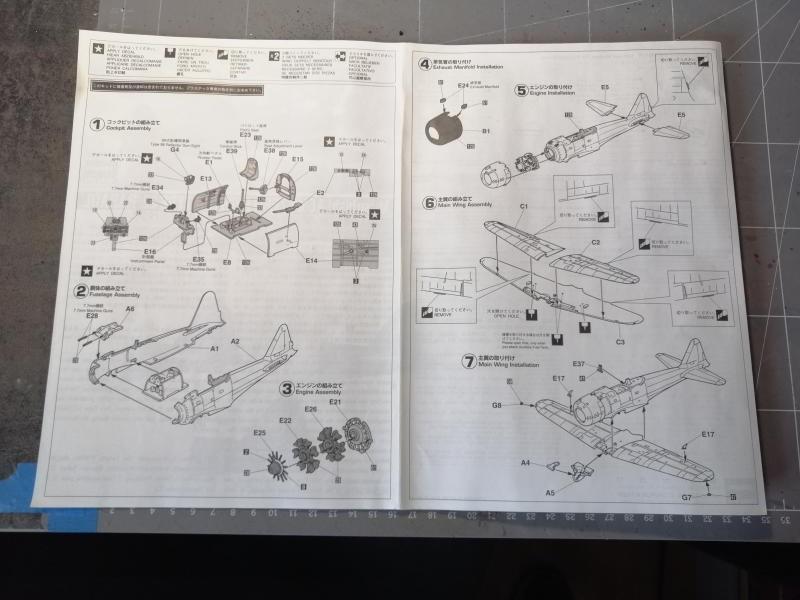 Ouvre boite Hasegawa 09407 A6M3 Zero type 22 Rabaul au 1/48 817