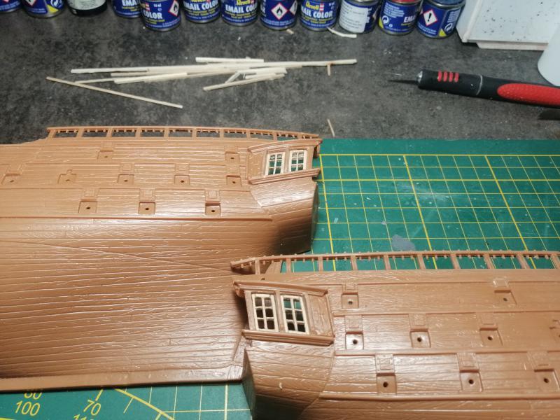 Frégatte USS BONHOMME RICHARD1/132ème Revell 8312