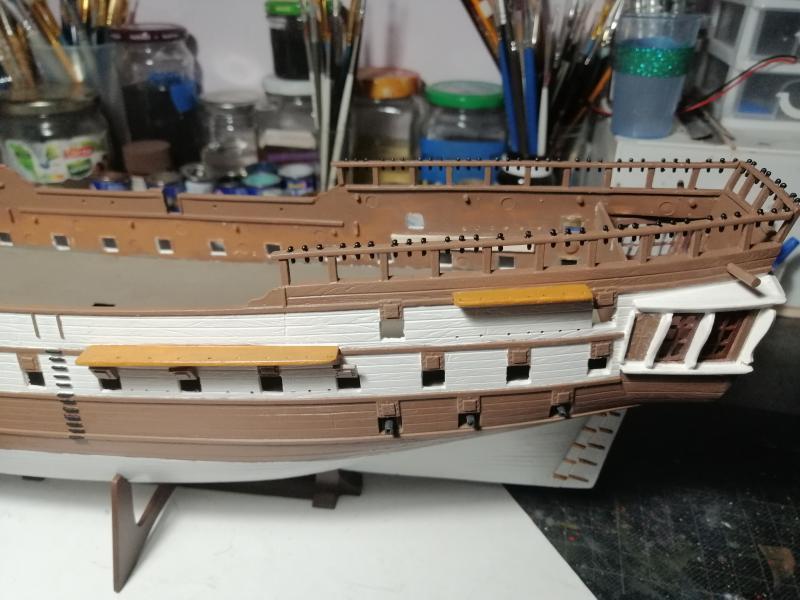 Frégatte USS BONHOMME RICHARD1/132ème Revell - Page 4 8513
