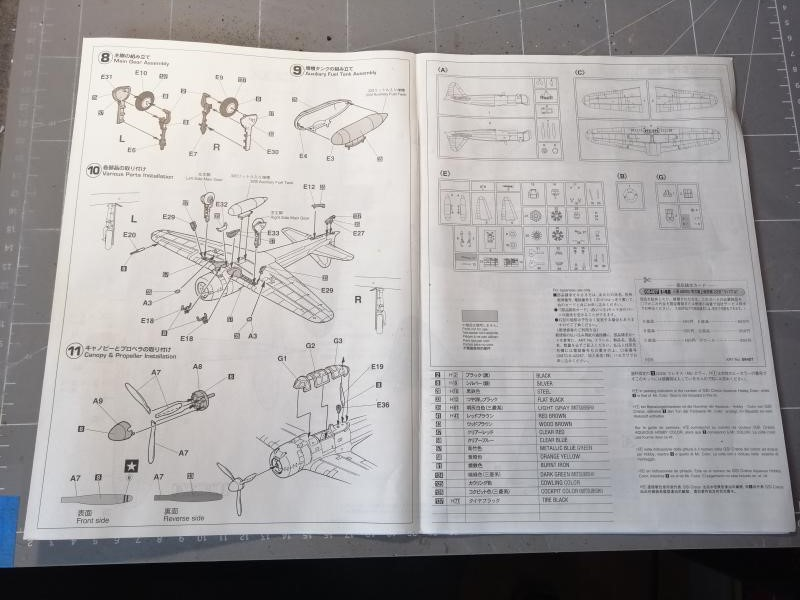 Ouvre boite Hasegawa 09407 A6M3 Zero type 22 Rabaul au 1/48 917