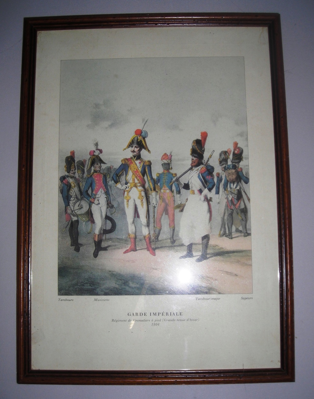 VENTE GRAVURES PREMIER EMPIRE, GARDE IMPERIALE. 180411