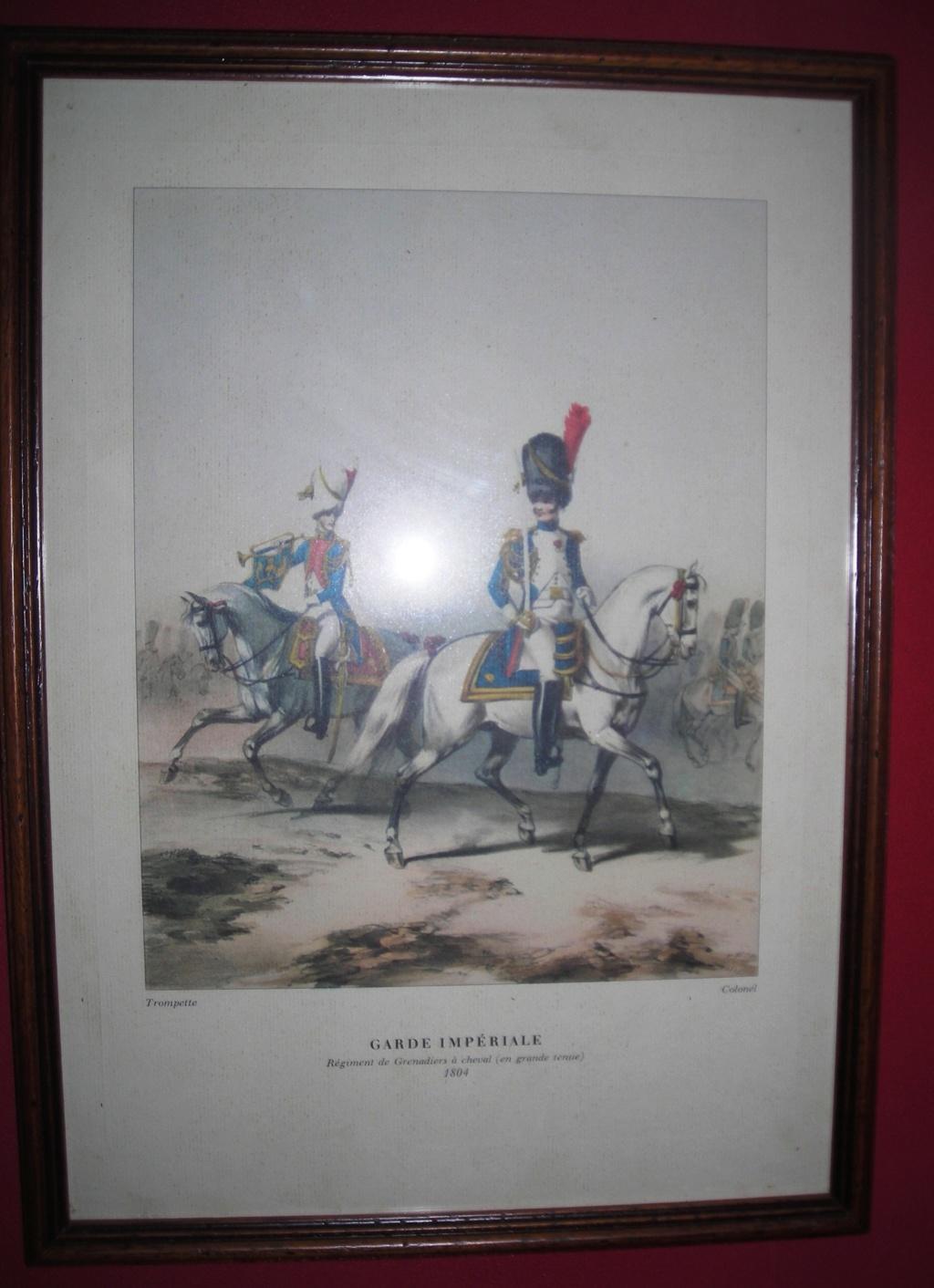 VENTE GRAVURES PREMIER EMPIRE, GARDE IMPERIALE. 1804_210