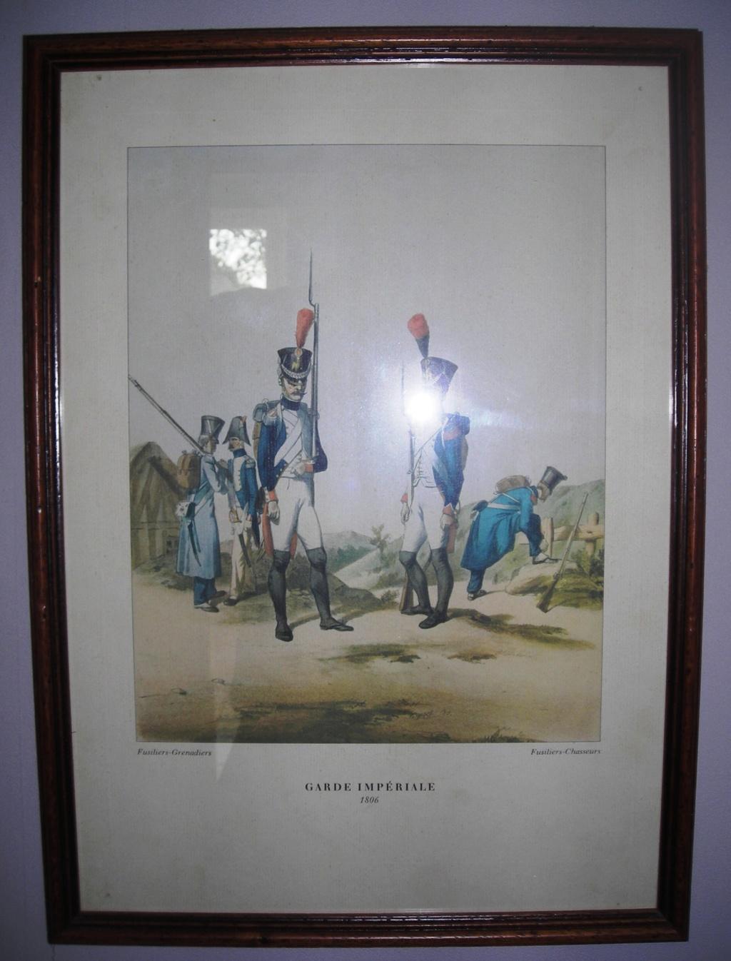 VENTE GRAVURES PREMIER EMPIRE, GARDE IMPERIALE. 180610