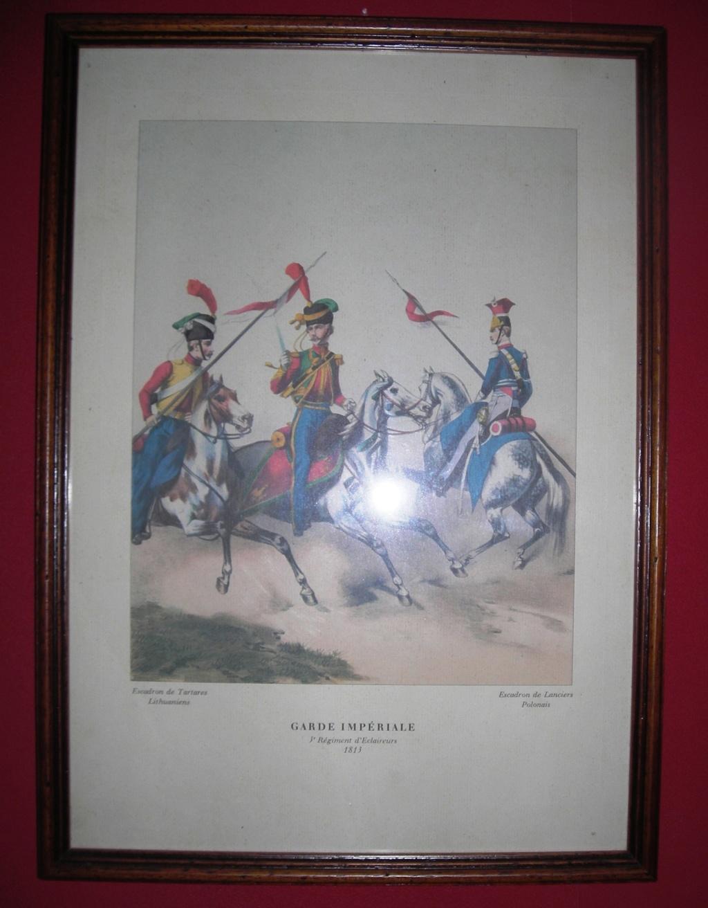 VENTE GRAVURES PREMIER EMPIRE, GARDE IMPERIALE. 181310