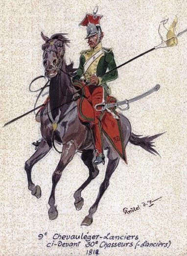 9e régiment de chevau-légers lanciers en 1812 au 1/72 30e_ch11