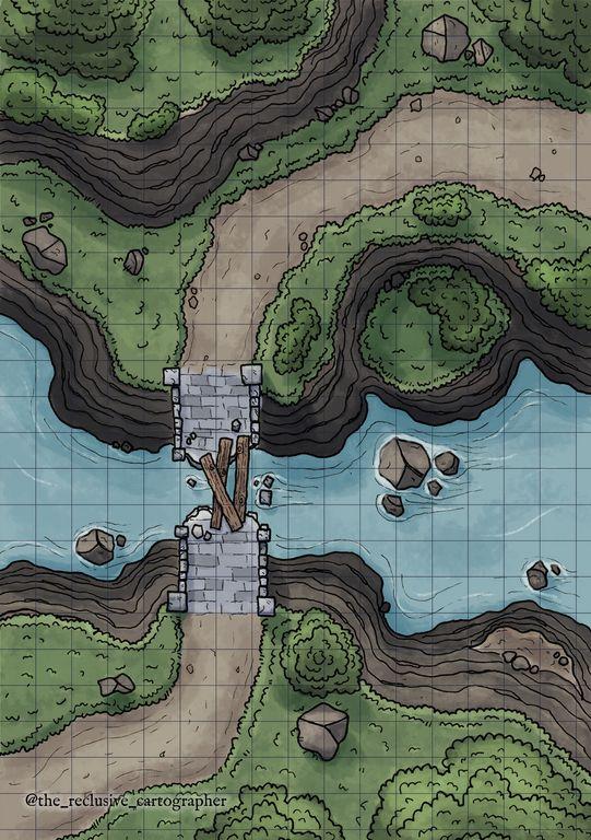 Les terres interdites. Maps_e10