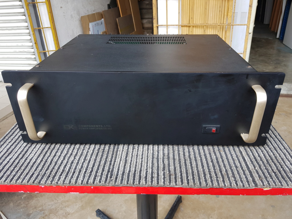 B&K EX-442 dual monuaral Power Amplifier (sold ) 20190730