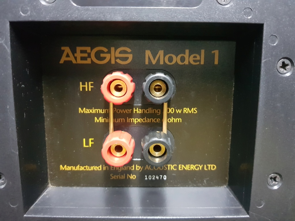 Acoustic Energy Aegis Model 1 speaker (New old stock) 20190812
