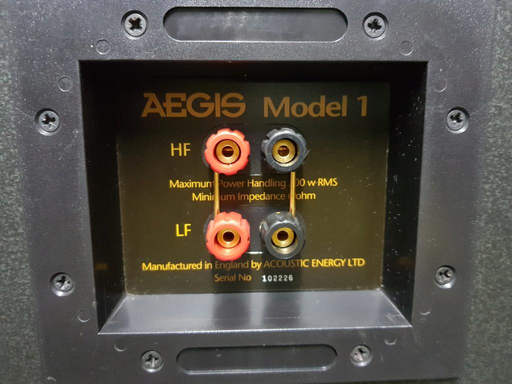 Acoustic Energy Aegis Model 1 speaker (New old stock) 20190816