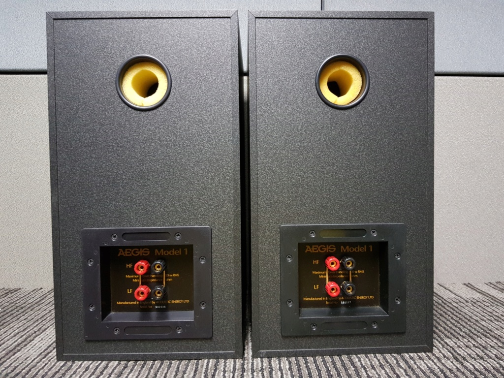 Acoustic Energy Aegis Model 1 speaker (New old stock) 20190817