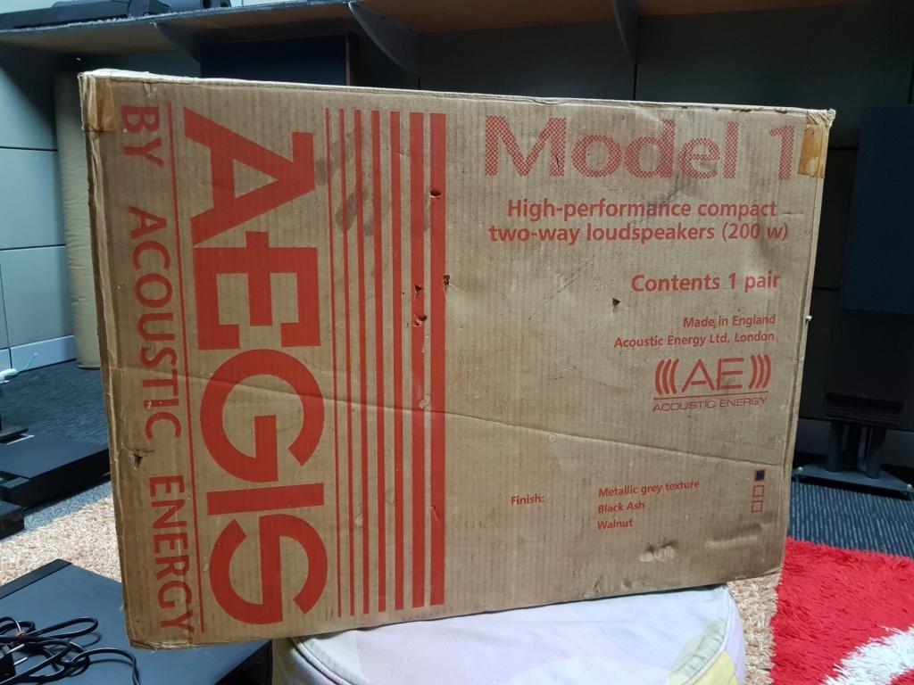 Acoustic Energy Aegis Model 1 speaker (New old stock) 20190819