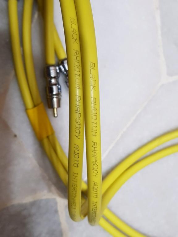 Black Rhodium Rhapsody RCA Interconnects (Sold) 20190826