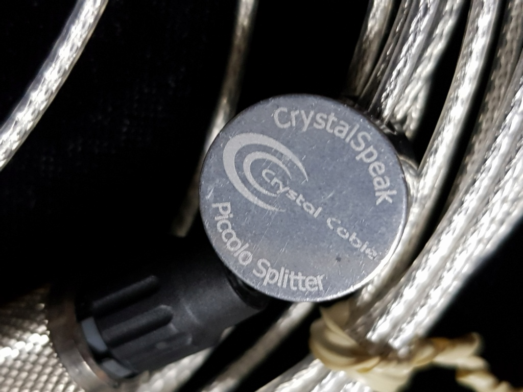 Crystal Cable CrystalSpeak Piccolo speaker cable 20191014