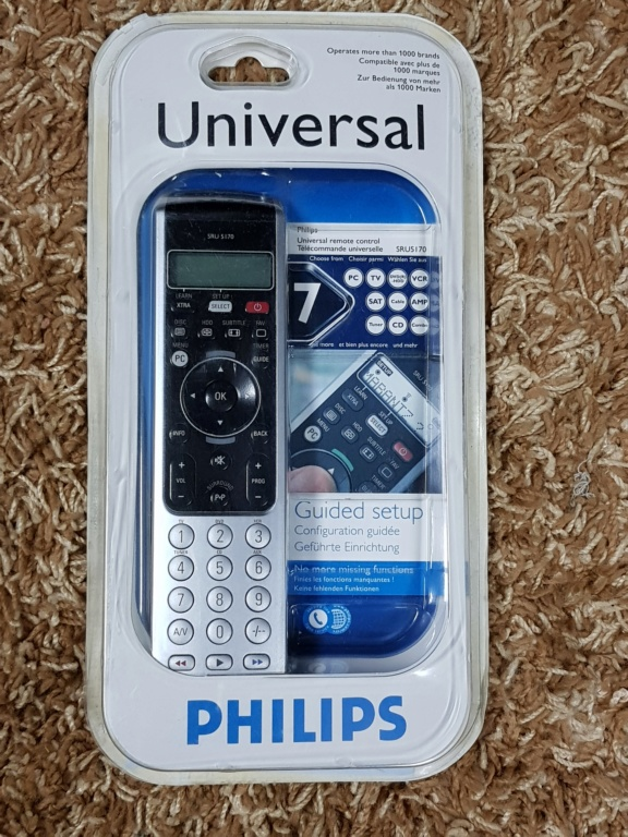 Philips SRU5170 Universal Remote Control (New) 20191045