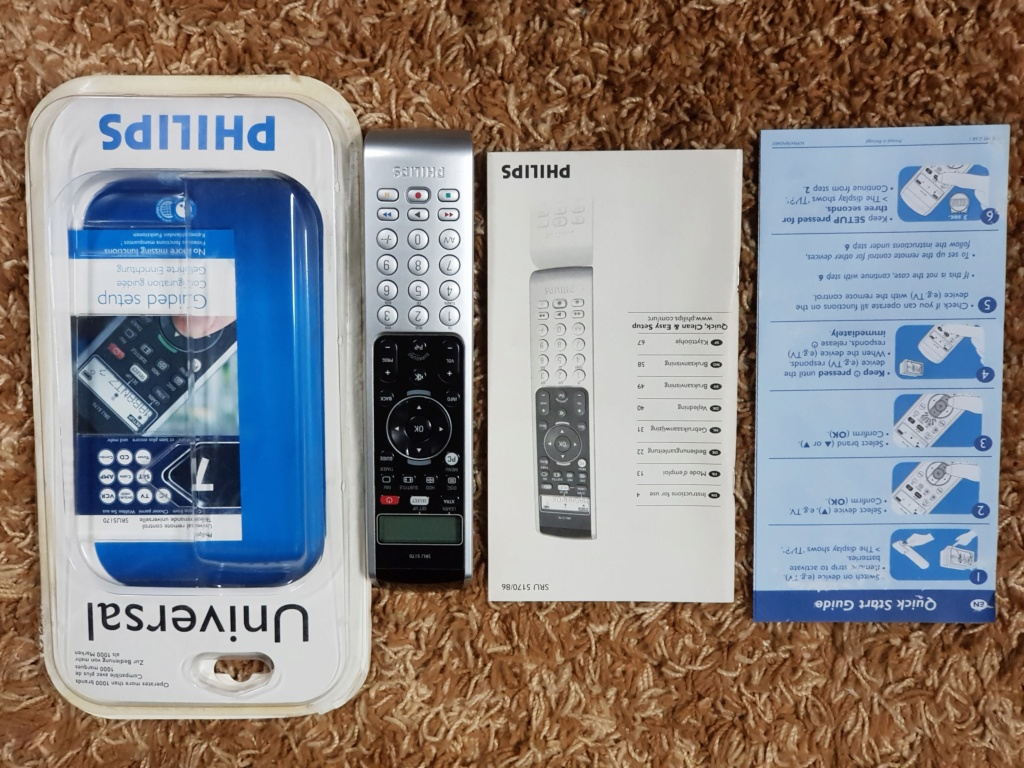 Philips SRU5170 Universal Remote Control (New) 20191047