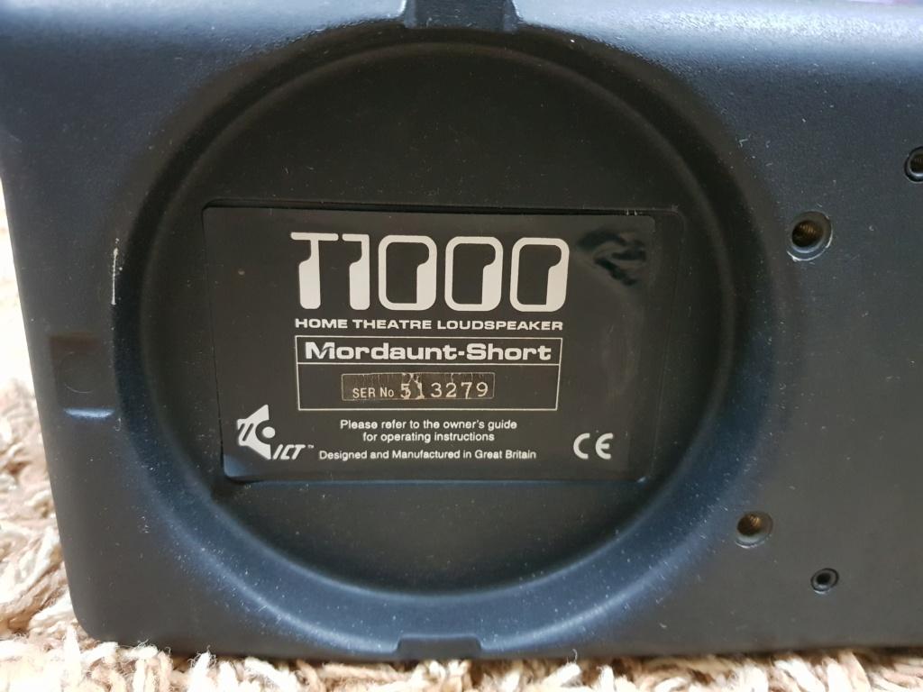Mordaunt-Short T-1000 3-way centre speaker 20191109