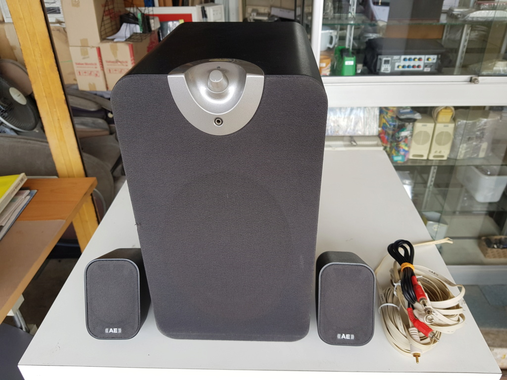 Acoustic Energy Aego-M 2.1 active speakers (Used) 20191120