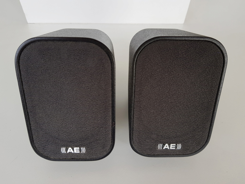 Acoustic Energy Aego-M 2.1 active speakers (Used) 20191123