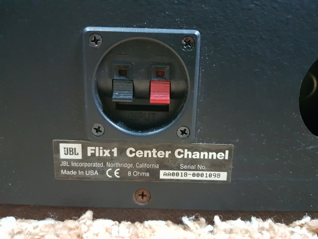 JBL Flix1 Center Speaker (Used) 20191152