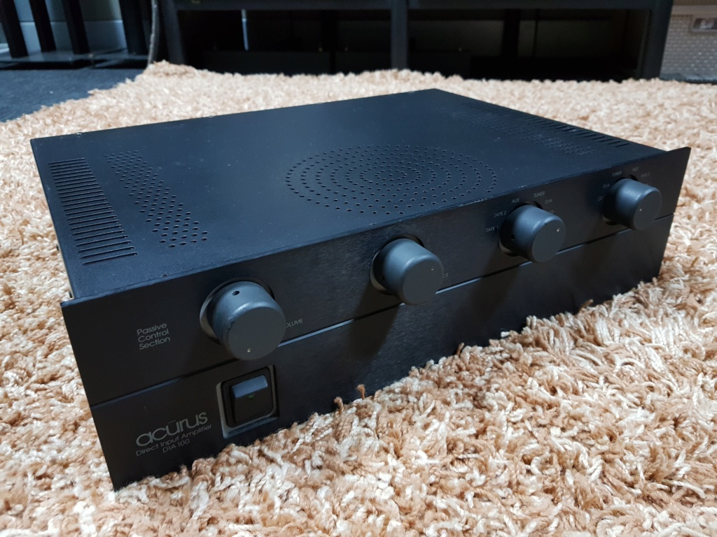 Acurus DIA 100 integrated amplifier 100Wpc (Used) 20191166