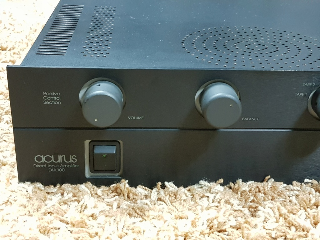 Acurus DIA 100 integrated amplifier 100Wpc (Used) 20191170