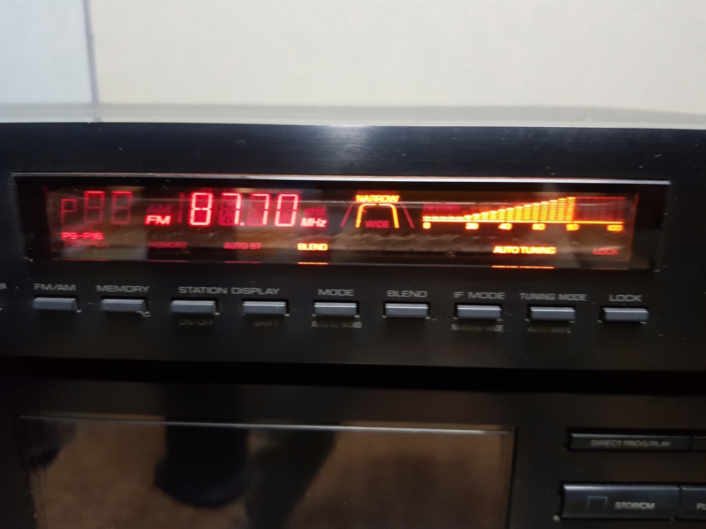 Yamaha TX-540 Natural Sound AM/FM Tuner (Used) 20191230