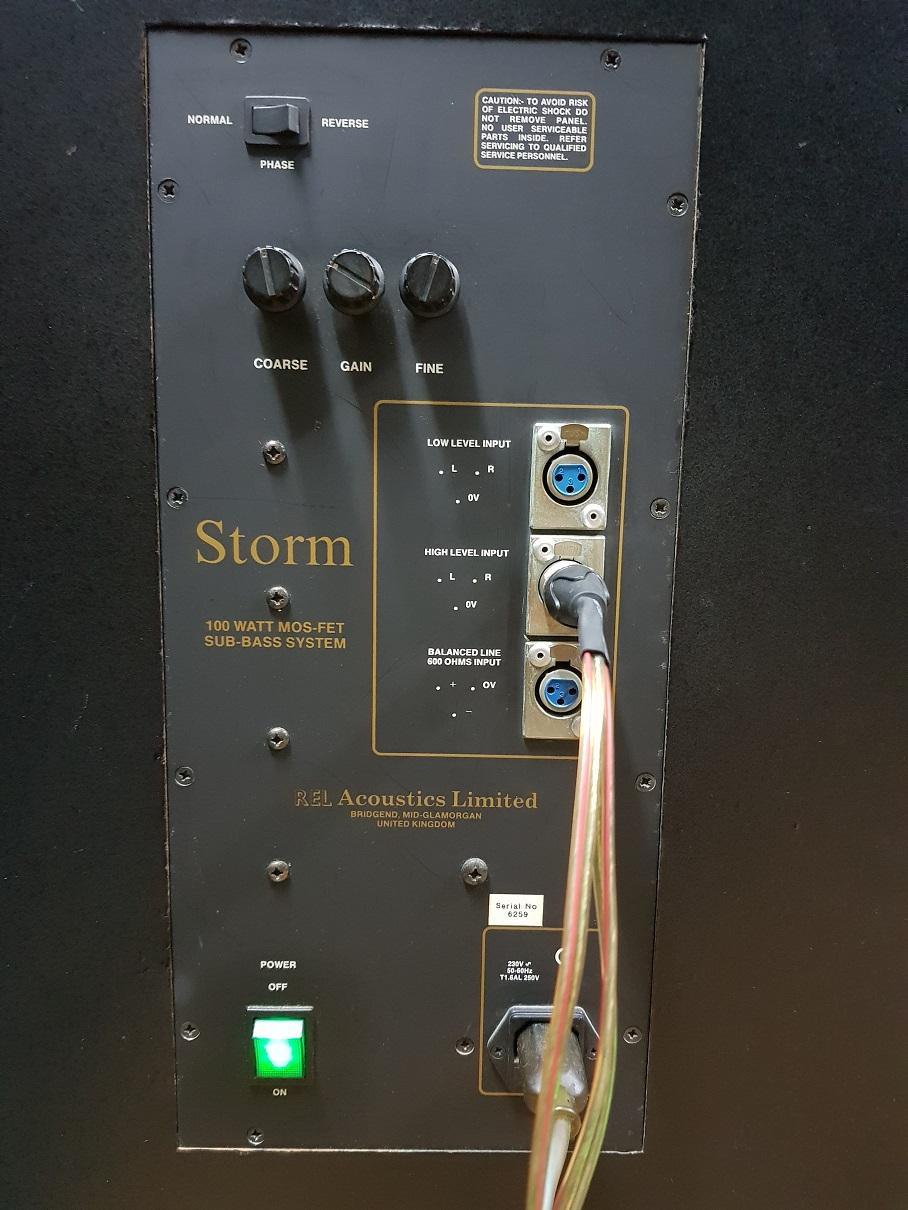 REL STORM Subwoofer (Used) 20191234