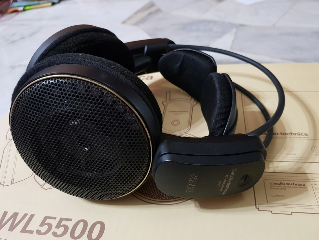 audio-technica Digital Wireless Headphone System(Used) 20200115