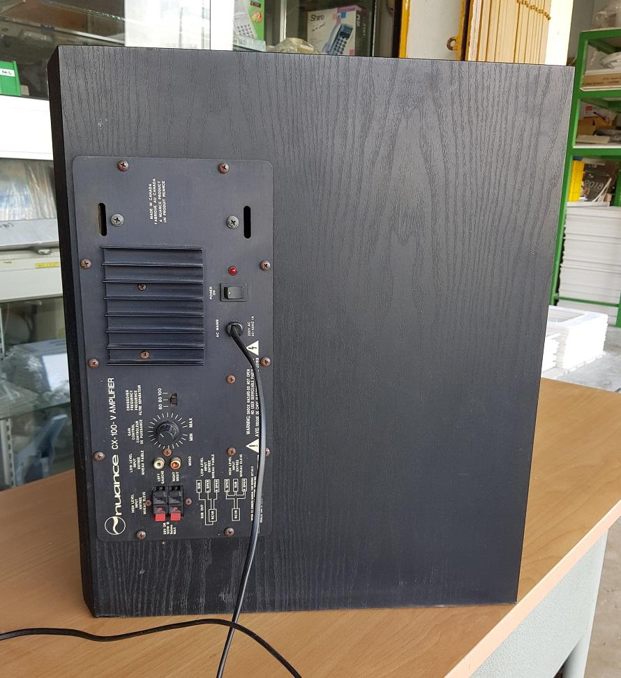 Nuance CX-100-V Power Subwoofer (Used) 20200320