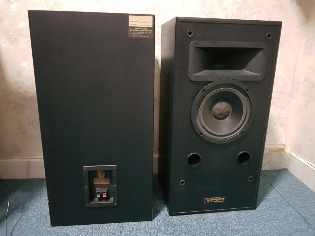 Klipsch Tangent 200 Horn Speakers (used) 20200411