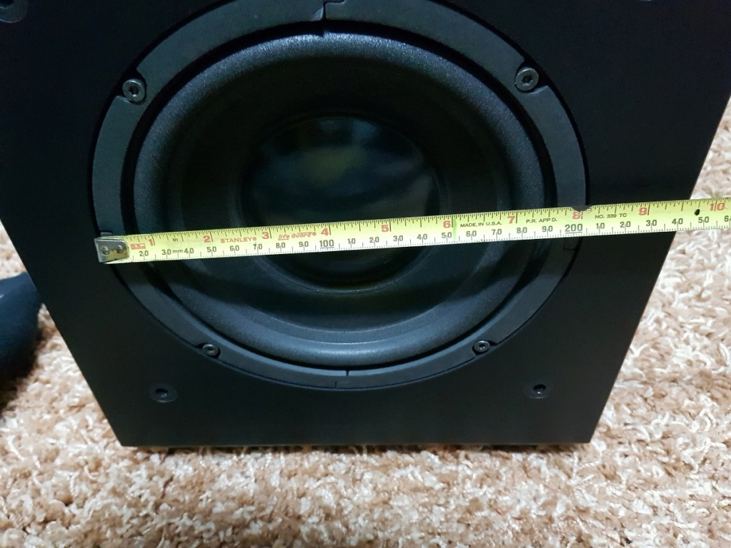 DALI SWA-8 – compact active subwoofer (Used) 20200517