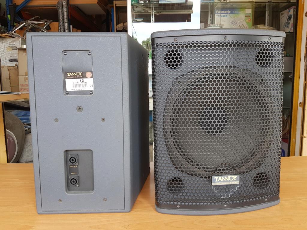 Tannoy i12 speaker (Used) 20200612